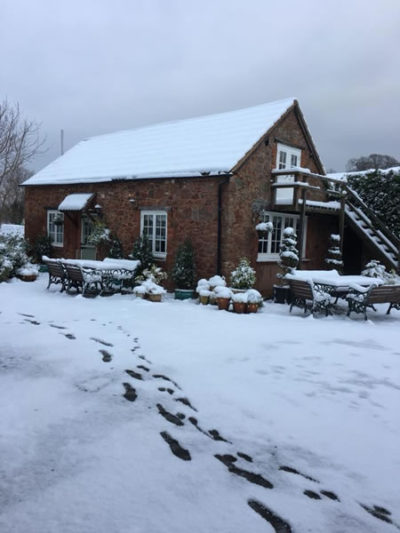 Winter at The Parkhorse Apartments in Allerford