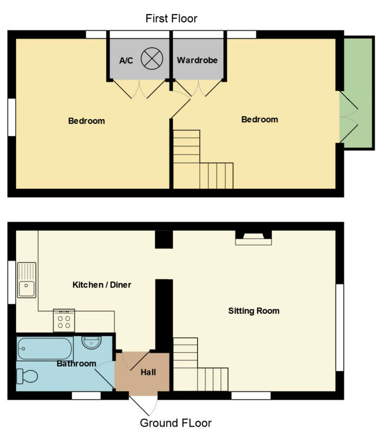 Stable Cottage Floor Plan