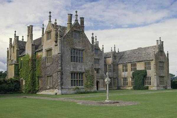 Tudor manor house, beautifully restored in the 1920s.
